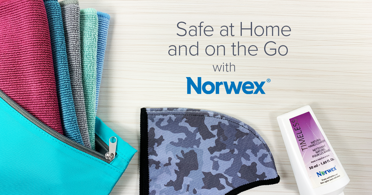 Safe at Home and on the Go—with Norwex!